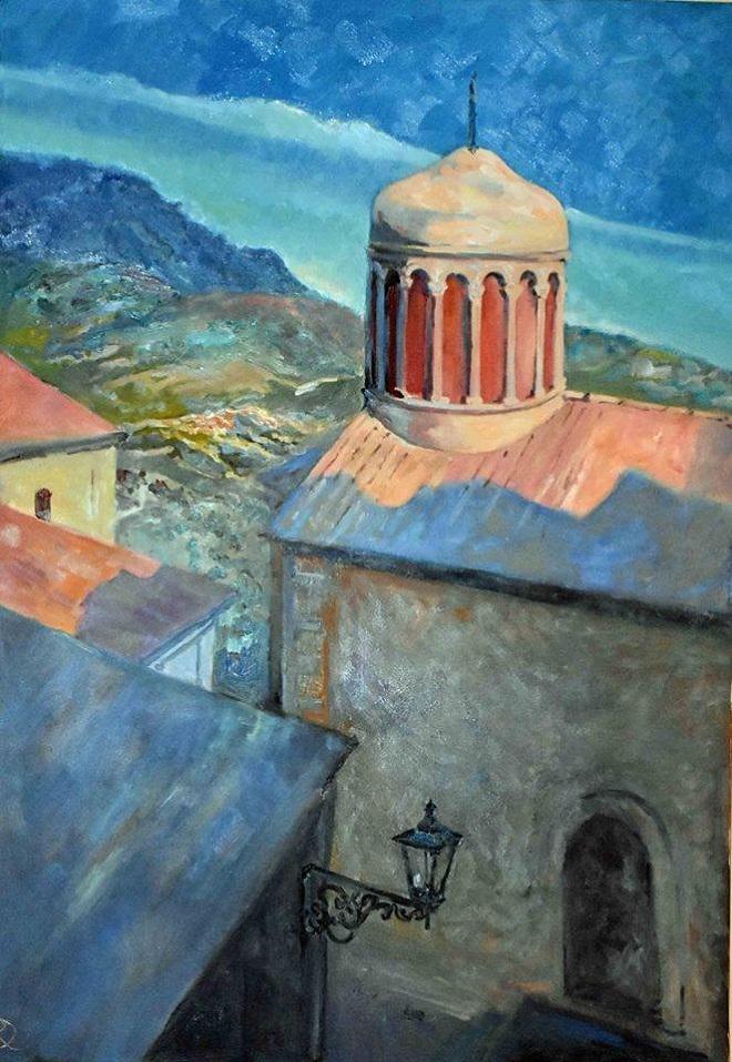 Даниэла Рябичева картина для Музея в Санта Северине