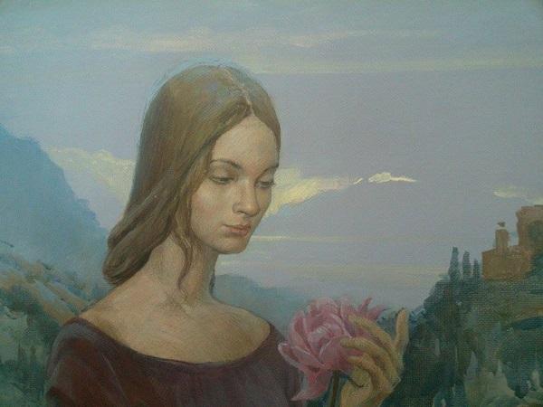 Даниэла Рябичева Портрет Сестры  Софии Загряжской в историческом костюме